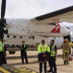 Qantas plane aborts landing at Sydney Airport after wheel drama