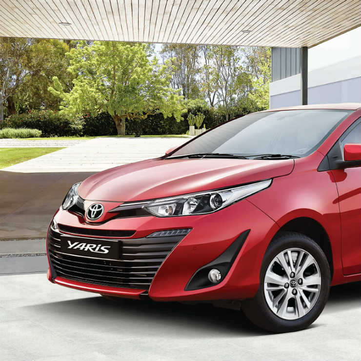 Toyota Yaris is India\'s first affordable sedan with 7 airbags in ALL ...